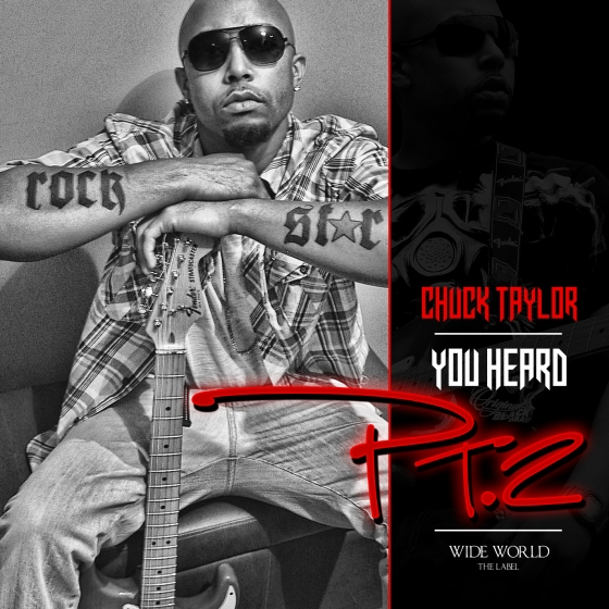 Chuck Taylor You Heard Pt2 Single Cover